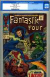 Fantastic Four #65 CGC 8.5 ow