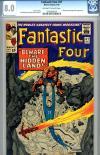 Fantastic Four #47 CGC 8.0 ow/w