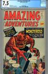 Amazing Adventures #5 CGC 7.5 ow