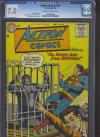 Action Comics #218 CGC 7.0 ow/w