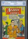 Action Comics #282 CBCS 7.5 ow/w