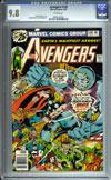 Avengers #149 CGC 9.8 w
