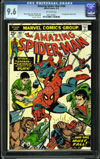 Amazing Spider-Man #140 CGC 9.6 ow
