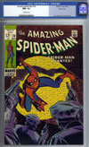 Amazing Spider-Man #70 CGC 9.6 ow Massachusetts