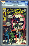 Amazing Spider-Man #91 CGC 9.4cr/ow