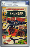 Amazing Adventures #7 CGC 9.8 ow/w Winnipeg