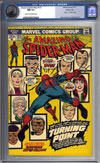 Amazing Spider-Man #121 CGC 9.4 cr/ow Pacific Coast