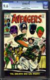 Avengers #60 CGC 9.6 ow/w