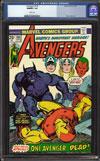 Avengers #136 CGC 9.8 w