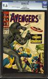 Avengers #37 CGC 9.6 w