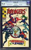 Avengers #53 CGC 9.8 ow
