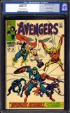 Avengers #58 CGC 9.8 ow/w
