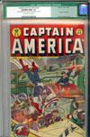 Captain America Comics #45 CGC 9.2ow/w