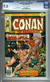 Conan The Barbarian #63 CGC 9.8 ow/w