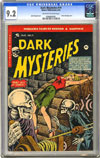 Dark Mysteries #19 CGC 9.2 ow/w