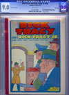Dick Tracy and Dick Tracy Jr. #1 CGC 9.0w