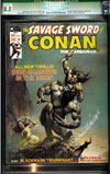 Savage Sword of Conan #4 CGC 8.5 ow/w
