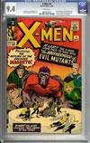X-Men #4 CGC 9.4 w