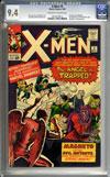 X-Men #5 CGC 9.4 ow/w