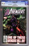 Avengers #502 CGC 9.6 w