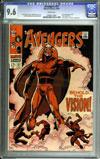 Avengers #57 CGC 9.6 w