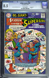 Action Comics #360 CGC 8.5 ow
