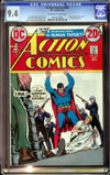 Action Comics #423 CGC 9.4 ow/w