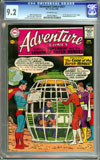 Adventure Comics #321 CGC 9.2 ow Newsstand Collection