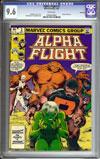 Alpha Flight #2 CGC 9.6 w Winnipeg
