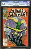 Alpha Flight #4 CGC 9.4 w Winnipeg