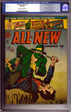 All New Comics #13 CGC 8.0 cr/ow File Copy