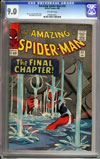 Amazing Spider-Man #33 CGC 9.0 ow