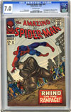 Amazing Spider-Man #43 CGC 7.0 ow