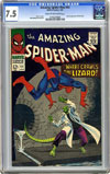 Amazing Spider-Man #44 CGC 7.5 cr/ow