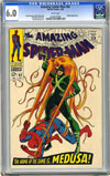 Amazing Spider-Man #62 CGC 6.0 w