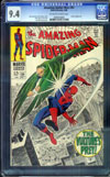 Amazing Spider-Man #64 CGC 9.4 ow/w