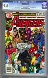 Avengers #181 CGC 9.8 ow/w