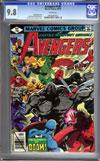 Avengers #188 CGC 9.8 w
