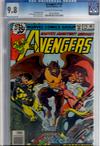 Avengers #179 CGC 9.8 ow/w