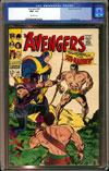 Avengers #40 CGC 9.6 w