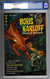Boris Karloff Tales of Mystery #34 CGC 9.8 ow
