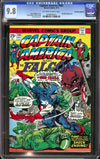 Captain America #185 CGC 9.8 ow/w Don Rosa Collection