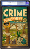 Crime and Punishment #6 CGC 7.5 cr/ow Canadian Edition