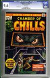 Chamber of Chills #9 CGC 9.6 w