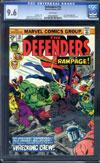 Defenders #18 CGC 9.6 w