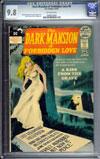 Dark Mansion of Forbidden Love #4 CGC 9.8ow