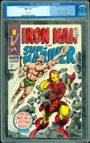 Iron Man and Sub-Mariner #1 CGC 9.6 w