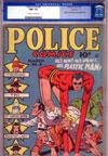 Police Comics #8 CGC 9.2 ow/w