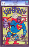 Superboy #142 CGC 9.4 ow/w Green River